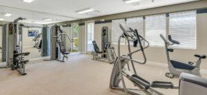 Apartments in Elk Grove, CA - Geneva Pointe Fitness Center with Cardio Equipment